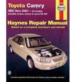 1997-2001 Lexus Es300 Repair Manual Haynes Lexus Repair Manual 92007 97 98 99 00 01