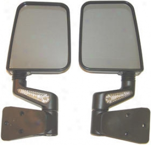1997-2002 Jeep Wrangler Mirror Rugged Ridge Jeep Mirror 11015.2 97 98 99 00 01 02