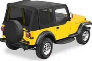 1997-2002 Jeep Wrangler Soft Top Bestop Jeep Soft Rise above 79124-01 97 98 99 00 01 02