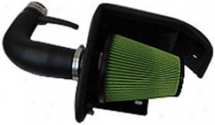 1997-2003 Ford F-150 Cold Air Intake Green Ford Cold Air Intake 2552 97 98 99 00 01 02 03