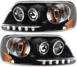 1997-2003 Ford F-150 Headlight Anzo Ford Headlight 111031 97 98 99 00 01 02 03