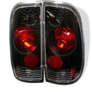 1997-2003 Ford F-150 Tail Light Spyder Ford Tail Light Alt-yd-ff16097-bk 97 98 99 00 01 02 03