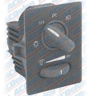 1997-2003 Pontiac Grand Prix Headlight Switch Ac Delco Pontiac Headlight Switch D1558e 97 98 99 00 01 02 03