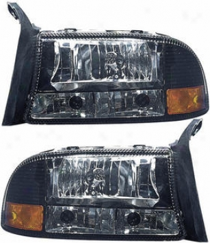 1997-2004 Dodge Dakota Headlight Replacement Dodge Headlight Dg9704ch 97 98 99 00 01 02 03 04