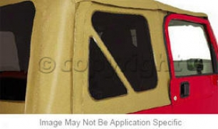 1997-2006 Jeep Wrangler Tinted Window Kit Rampage Jeep Tinted Window Kid 699615 97 98 99 00 01 02 03 04 05 06