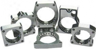 1997-2008 Ford F-150 Throttle Body Spacer Afe Wade through Throttle Body Spacer 46-33001 97 98 99 00 01 02 03 04 05 06 07 08