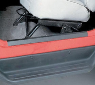 1997-2008 Jeep Wrangler Door Ground-~ Protector Outland Jeep Passage Sill Guardian 7686 97 98 99 00 01 02 030 4 05 06 07 08