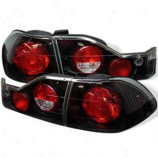 1998-2000 Honda Accord Tail Light Spyder Honda Tail Aspect Alt-yd-ha98-bo 98 99 00