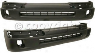 1998-2000 Toyota Tacoma Bumper Cover Re-establishment Toyota Bumper Cover 3939p 98 99 00