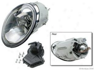 1998-2000 Volkswagen Beetle Headlight Genera Volkswagen Headlight W0133-1603506 98 99 00