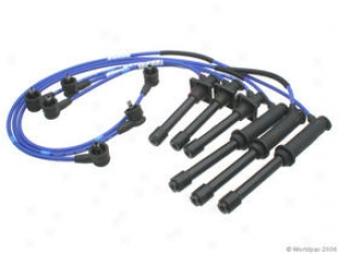 1998-2002 Mazda 626 Ignition Wire Set Ngk Mazda Ignition Wire Set W0132-1609695 98 99 00 01 02