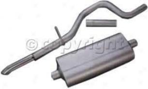 1998-2003 Dodge Durango Exhaust System Flowmaster Dodge Exhaust System 17208 98 99 000 1 02 03
