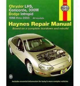 1998-2004 Chrysler Concorde Repzir Manual Haynes Chrysler Repair Manual 25026 98 99 00 01 02 03 04