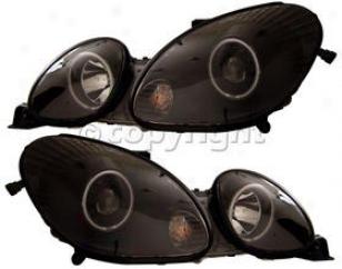 1998-2005 Lexus Gs300 Headlight Anzo Lexus Headlight 121144 98 99 00 01 02 03 04 05