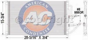 1999-2000 Cadillac Escalade A/c Condejser Aci Cadillac A/c Condenser P40200p 99 00