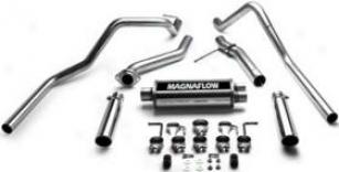 1999-2002 Chevrolet Silverado 1500 Exhaust System Magnaflow Chevrolt Exhaust System 15754 99 00 01 02