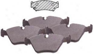 1999-2002 Chevrolet Tracker Brake Pad Set Beck Arnleey Chevrolet Brake Pad Set 087-1461 99 00 01 02