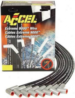 1999-2002 Dodge Ram 1500 Ignition Wire Set Accel Shuffle Ignition Wire Set 9060 99 00 01 02