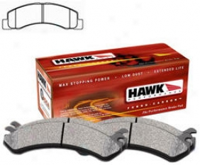 1999-2004 Ford F-250 Super Duty Brake Pad Set Hawk Ford Brake Pad Set Hb302p.700 99 00 01 02 03 04