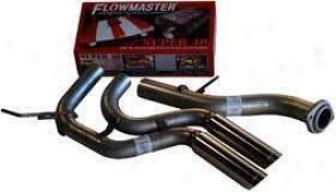 1999-2006 Chevrolet Silverado 1500 Exhaust System Flosmaster Chevroket Exhaust System 17392 99 00 01 02 03 04 05 06