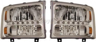 1999-2007 Stream F-250 Super Duty Headlight Anzo Ford Headlight 111088 99 00 01 02 03 04 05 06 07