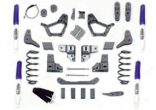 1999 Ford F-250 Suspension Lift Kit Pro Comp Stream Suspension Lift Outfit 52414b 99