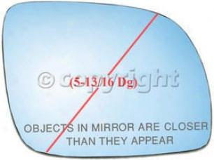 2000-2002 Audi A4 Mirror Glass Ppg Auto Glass Audi Mirror Glass 3572 00 01 02