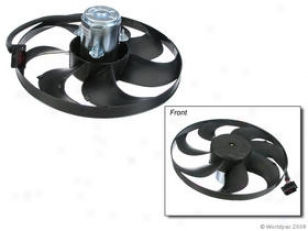 2000-2002 Audi Tt Auxiliary Fan Assembly Febi Audi Auxiliary Fan Assembly W0133-1614991 00 01 02
