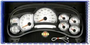2000-2002 Chevrolet Tahoe Gauge Face Street Scene Chevrolet Gauge Face 950-39002 00 01 02