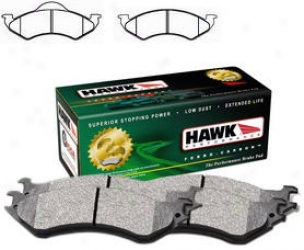 2000-2002 Dodge Dakota Brake Pad Set Hawk Dodge Brake Pad Set Hb307y.795 00 01 02