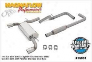 2000-2005 Dodge Neon Expend System Magnaflow Dodge Exhaust System 15801 00 01 02 03 04 05