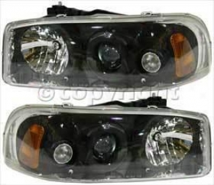 2000-2005 Gmc Jimmy Headlight Elegante Gmc Headlight 80-6215-40 00 01 02 03 04 05