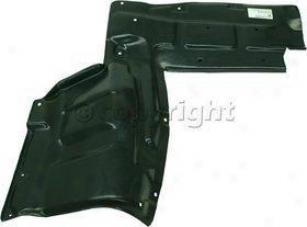 2000-2005 Toyota Celica Engine Splash Shield Replacement Toyota Engine Splash Shield T310131 00 01 02 03 04 05