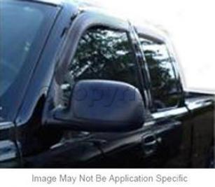 2000-2007 Chevrolet Silverado 1500 Discharge Visor Ventshade Chevrolet Emission Visor 94044 00 01 02 03 04 05 06 07