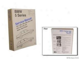 2001-2002 Bmw 525i Repair Manual Bentley Bmw Repair Manual W0133-1605248 01 02