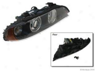 2001-2003 Bmw 525i Headlight Hella Bmw Headlight W0133-1597327 01 02 03