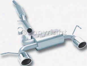 2001-2004 Audi Tt Quattro Exhaust A whole  Borla Audi Exhaust System 14957 01 02 03 04