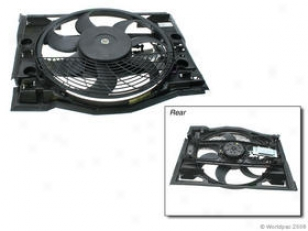 2001-2005 Bmw 325i Auxiliary Fan Assembly Vemo Bmw Auxiliary Fan Assembly W0133-1662674 01 02 03 04 05