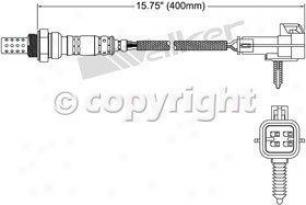 2001-2005 Buick Century Oxygen Sensor Walker Products Buick Oxygen Sensor 25024269 01 02 03 04 05