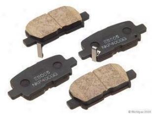 2001-2006 Acura Mdx Brake Pad Sharpen Nissin Acura Brake Pad Set W0133-1624852 01 02 03 04 05 06