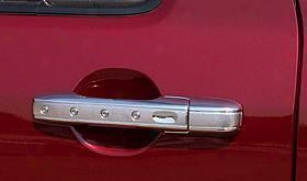 2001-2006 Hyundai Santa Fe Door Hancle Covet Putco Hyundai Door Handle Cover 408104 01 02 03 04 05 06