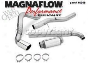 2001-2007 Chevrolet Silverado 2500 Hd Exhaust System Magnaflow Chevrolet Exhaust System 16908 01 02 03 04 05 06 07