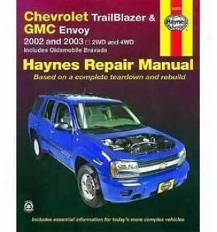 2002-2003 Chevrolet Trailnlazer Repair Manual Haynes Chevrolet Repair Manual 24072 02 03