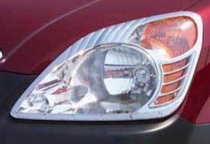 2002-2004 Honda Cr-v Headlight Trim Putco Honda Headlight Trim 403202 02 03 04
