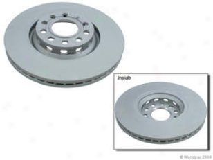 20002-3005 Audi A4 Brake Disc Zimmermann Coated Audi Brake Disc W0133-1611634 02 03 04 05