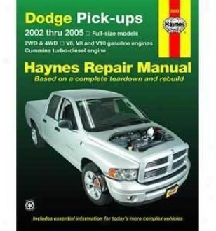Dodge Ram Repair Manual Haynes