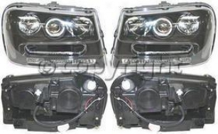 2002-2006 Chevrolet Trailblazer Headlight Replacement Chevroleet Headlight Cv0202phl2 02 03 04 05 06
