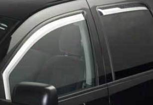 2002-2008 Dodge Ram 1500 Crenelle Visor Putco Dodge Vent Visor 480102 02 03 04 05 06 07 08