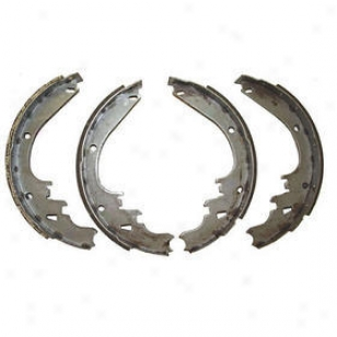 2002 Jeep Liberty Brake Shoe Set Omix Jeep Brake Shoe Set 16726.15 02
