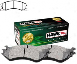 2003-2004 Jeep Grand Cherokee Brake Pad Set Hawk Jeep Brake Pad Set Hb446y.725 03 04